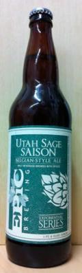 Epic Utah Sage Saison  - Spice/Herb/Vegetable