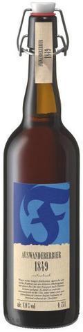 Faust Auswanderer Bier 1849
