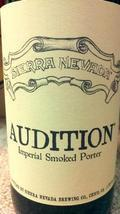 Sierra Nevada Audition Imperial Smoked Porter - Imperial Porter