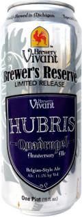 Brewery Vivant Hubris Quadruple Anniversary Ale