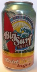 Big Surf Laid Back Lager