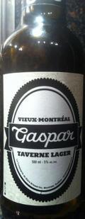 Vieux-Montr�al Gaspar Taverne Lager