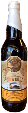 Copper Kettle Snowed In
