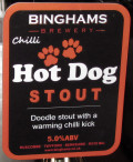Binghams Chilli Hot Dog Stout - Stout