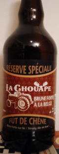 La Chouape Brune Forte Belge R�serve Sp�ciale