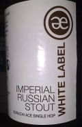 Emelisse White Label Imperial Russian Stout (Sorachi Ace Single Hop) - Imperial Stout