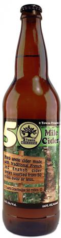2 Towns 50 Mile Cider - Cider