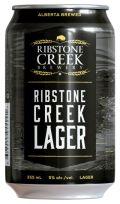 Ribstone Creek Lager - Premium Lager