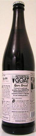 Mountain Goat Rare Breed Rye IPA