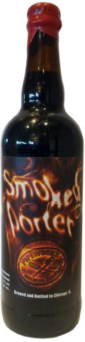 Pipeworks Koval Whiskey Barrel Aged Smoked Porter 20% (Red + Tan Wax)