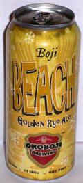 Okoboji Boji Beach Golden Rye Ale - Golden Ale/Blond Ale