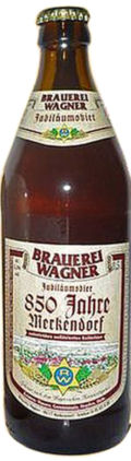 Brauerei Wagner Jubil�umsbier 850 Jahre Merkendorf