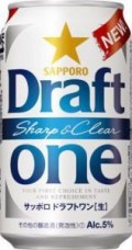 Sapporo Draft One Sharp and Clear - Pale Lager