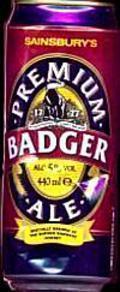 Sainsbury's Premium Badger Ale