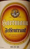 Hartmann Felsentrunk