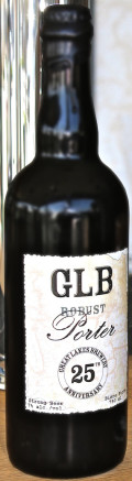 Great Lakes Brewery 25th Anniversary Robust Porter