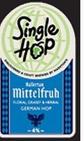 Marstons Single Hop Hallertau Mittelfruh - Golden Ale/Blond Ale