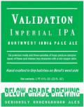 Below Grade Validation Imperial IPA - Imperial IPA