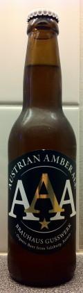 Gusswerk AAA Austrian Amber Ale