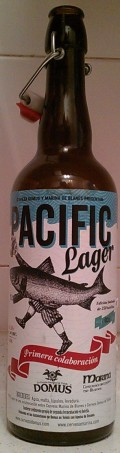 Domus Pacific Lager - Pale Lager