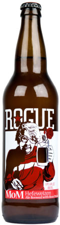 Rogue MoM Hefeweizen with Rose Petals