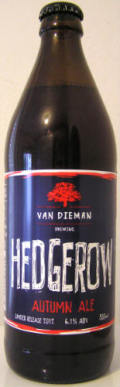 Van Dieman Hedgerow Autumn Ale 2012