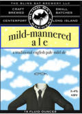 Blind Bat mild-mannered ale