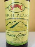 Saranac High Peaks Lemon Ginger Saison