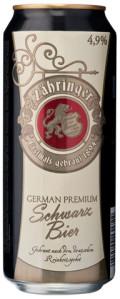 Frankenthaler Z�hringer German Premium Schwarz Bier