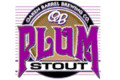 Oaken Barrel Plum Stout - Fruit Beer