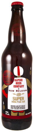 New Belgium / Alpine Lips of Faith - Super India Pale Ale - Imperial IPA