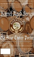 Rivertown Barrel Aged Old Sour Cherry Porter