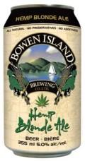Bowen Island Hemp Blonde Ale