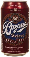 Bozeman Bozone Select Amber Ale