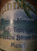 Kuhnhenn Sub-Tropical Breezes Black Tea Mead - Mead