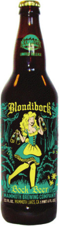 Mammoth Blondibock Bock Beer