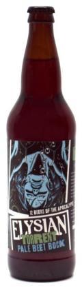 Elysian 12 Beers of Apocalypse # 7 - Torrent Pale Beet Bock - Spice/Herb/Vegetable