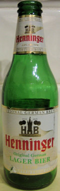 Henninger Original German Lager Beer