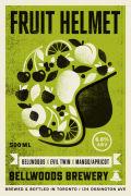 Bellwoods / Evil Twin Fruit Helmet (Mango/Apricot)