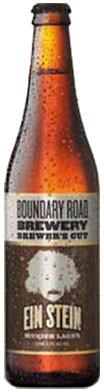 Boundary Road Brewer�s Cut Ein Stein