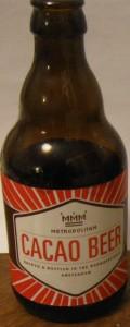 De Prael Metropolitan Cacao Beer
