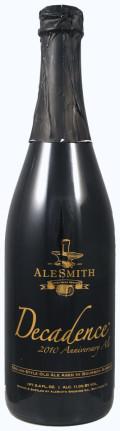 AleSmith Decadence 2010 - Barrel Aged