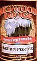 Redwood Lodge Brown Porter