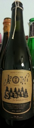 The Ale Apothecary Sahati