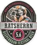 Ratsherrn Reeperbahn Festival Beer - American Pale Ale