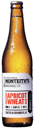 Monteiths Brewer�s Series Unfiltered Apricot Wheat