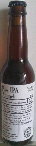 De Molen Rye IPA Nugget - India Pale Ale (IPA)