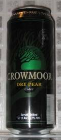 Crowmoor Extra Dry Pear Cider 4.7%