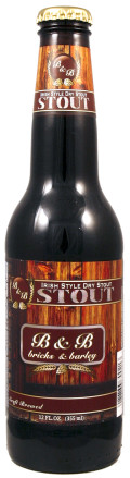 Bricks & Barley Irish Style Dry Stout