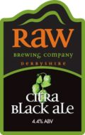 Raw Citra Black Ale